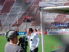 Roberto Pompei en Huracán
