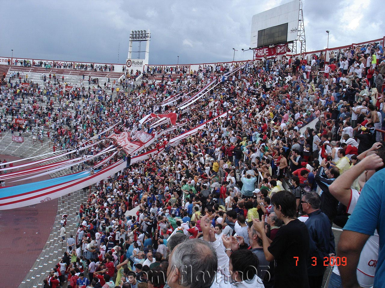 huracàn vs gimnasia jujuy fecha 05 clausura 2009