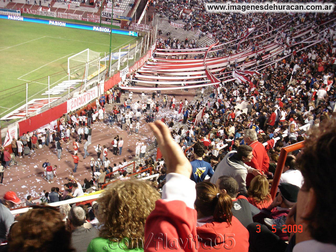 Huracán vs godoy cruz fecha 12 clausura 2009