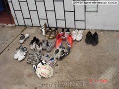 entrenamientos club atlético Huracán botines