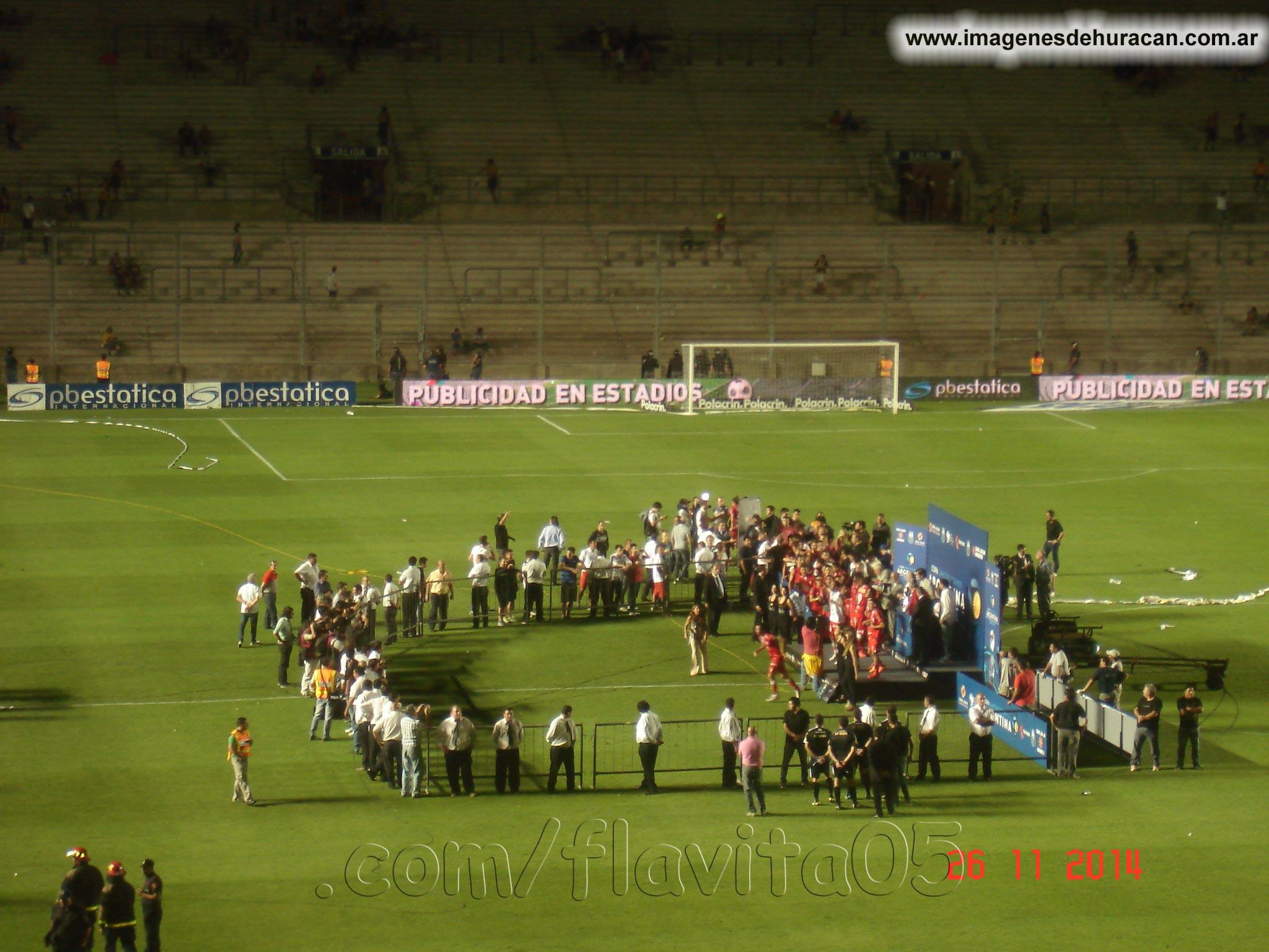 huracán vs rosario central final copa argentina 2014