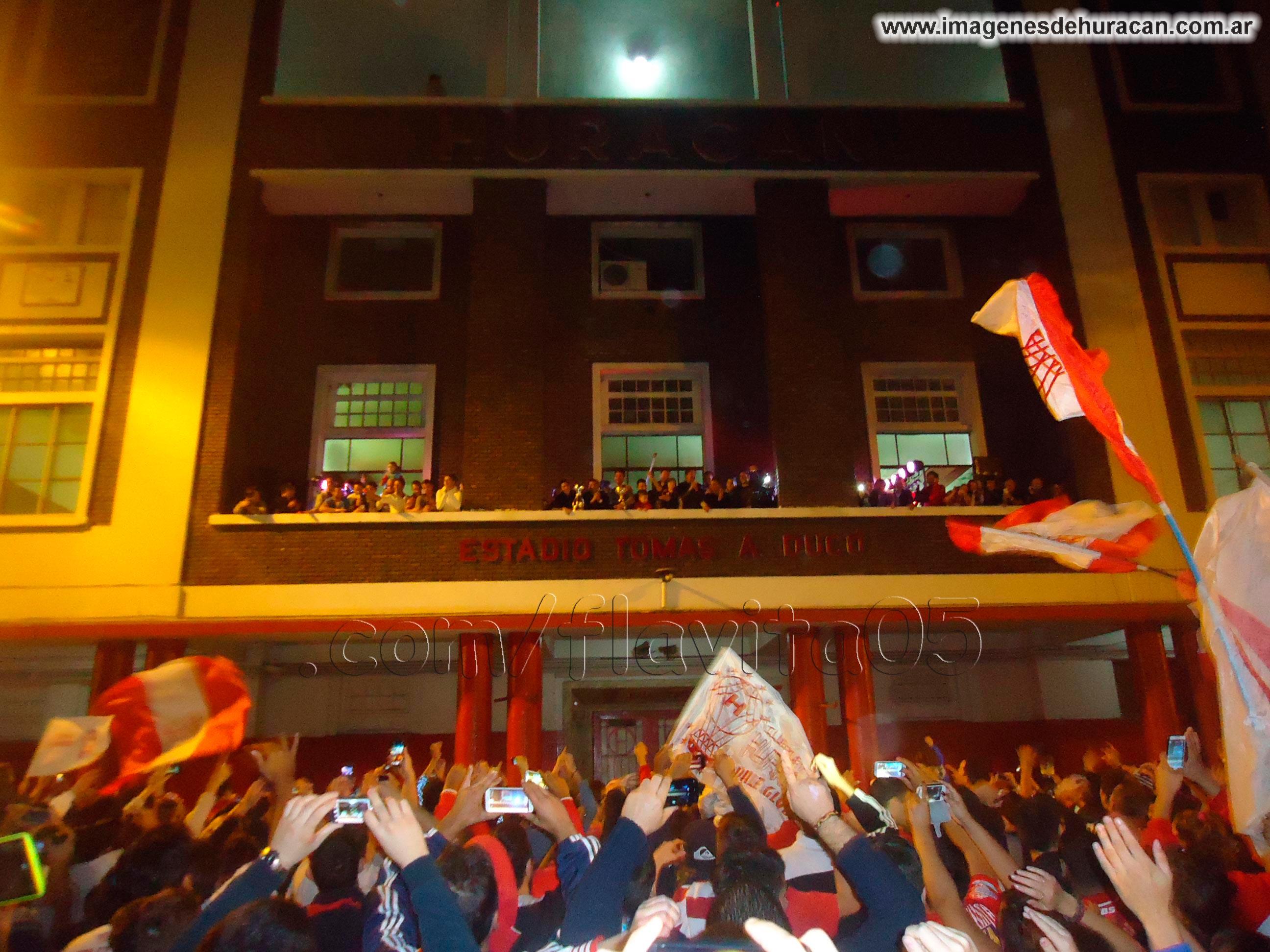 festejos supercopa argentina huracán