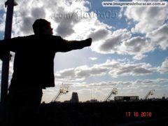 quemero en la bombonera boca vs huracán fecha 11 apertura 2010