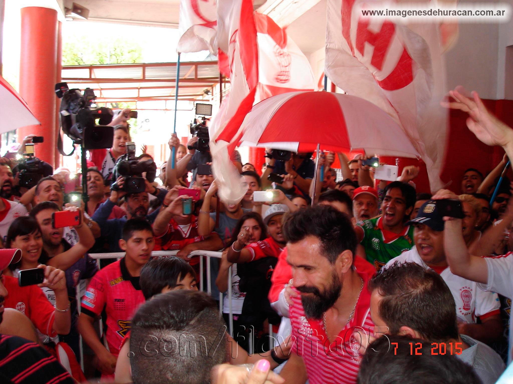 Copa Sudamericana - FINAL - Despedida al Plantel de Huracán