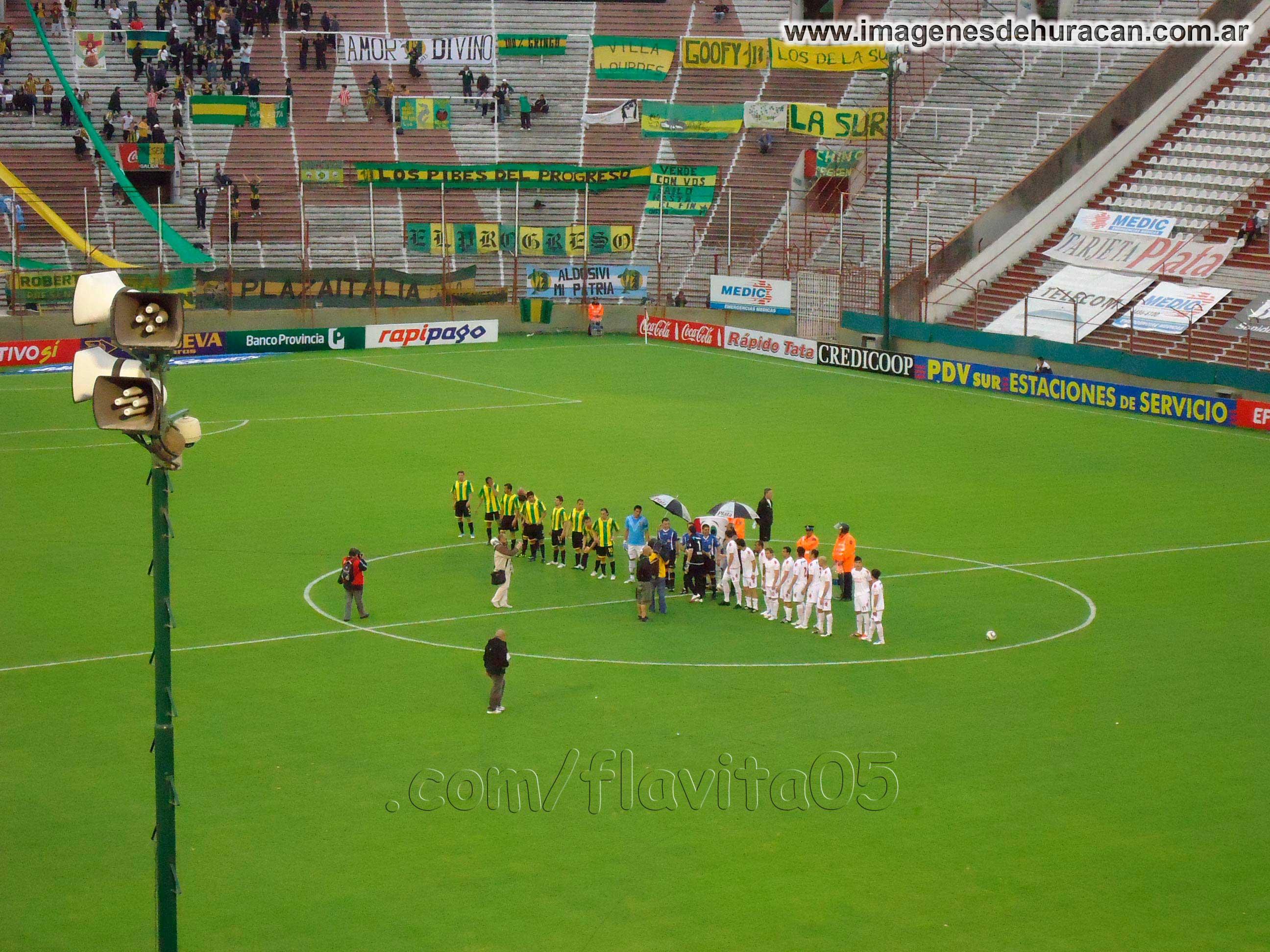 Huracán 3 – 0 Aldosivi - fecha 11 - nacional B 2011-2012
