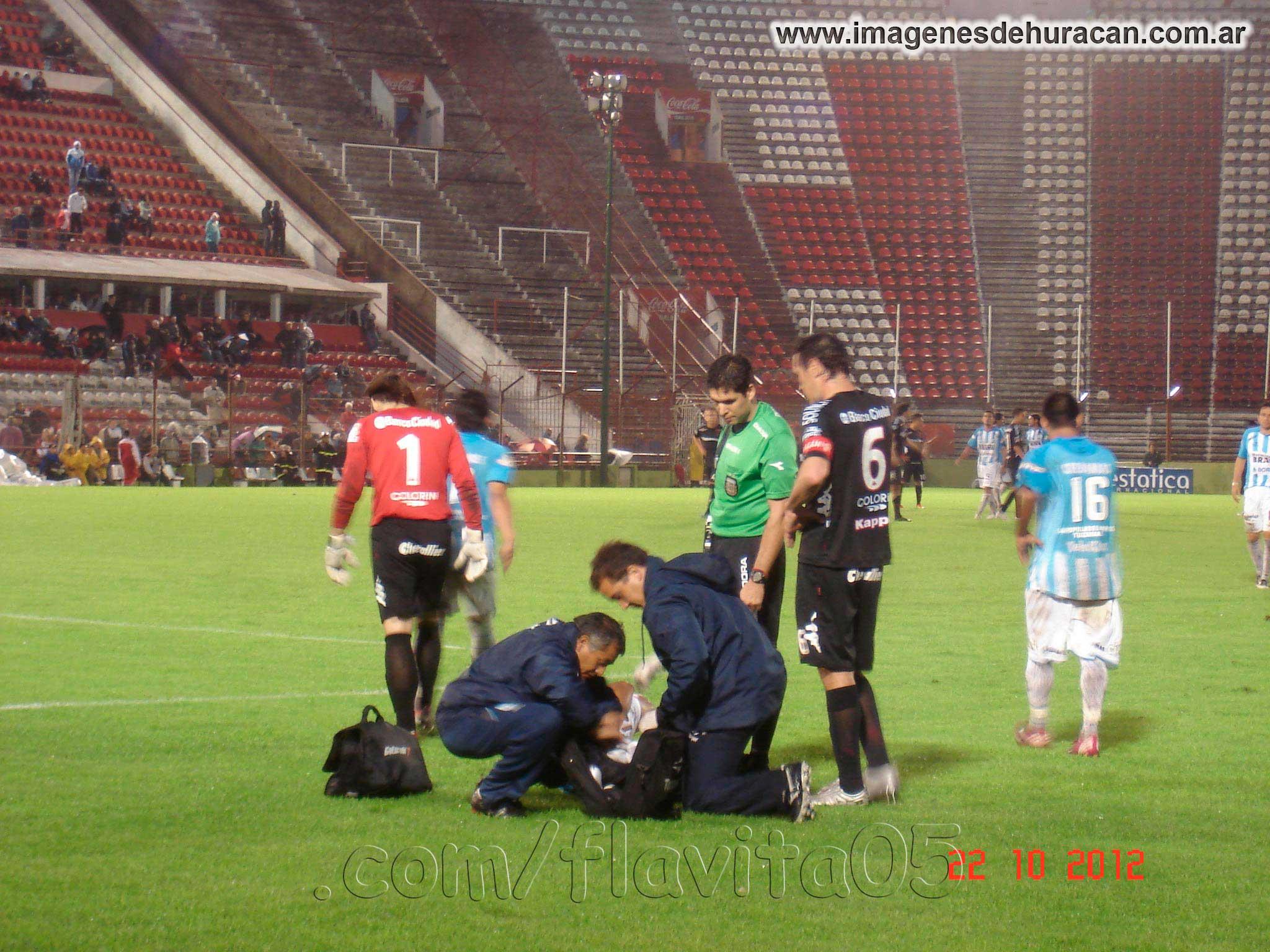 Huracán vs atlético Tucumán fecha 11 nacional B 2012-2013