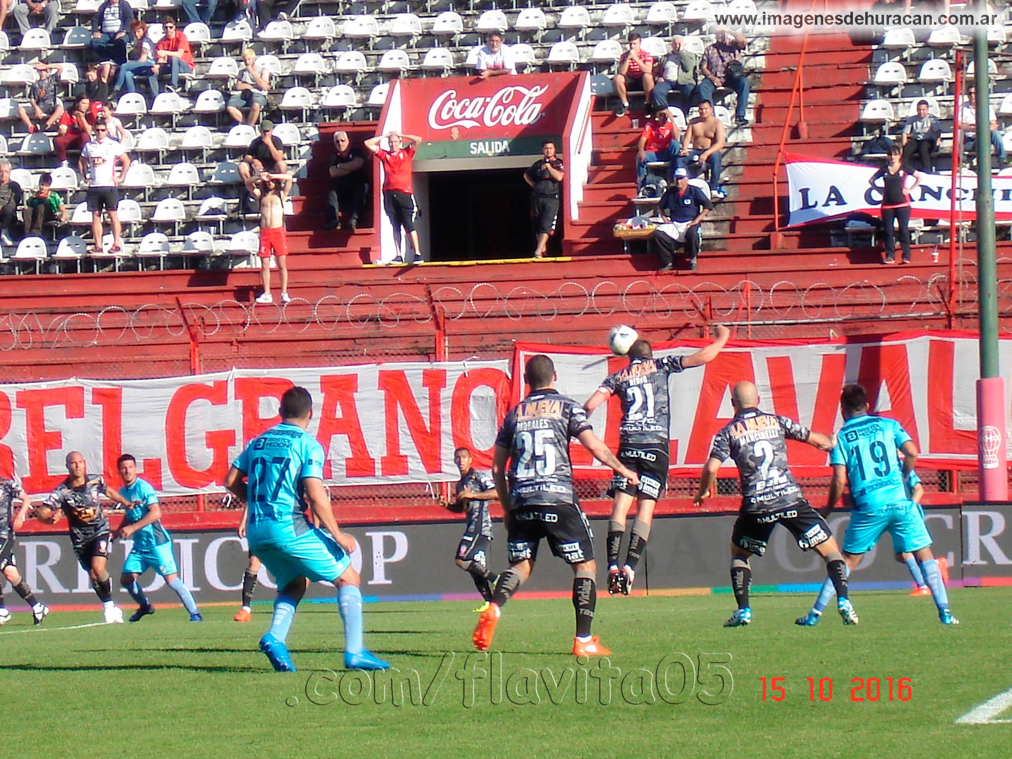 Huracán vs temperley fecha 06 primera división 2016-2017