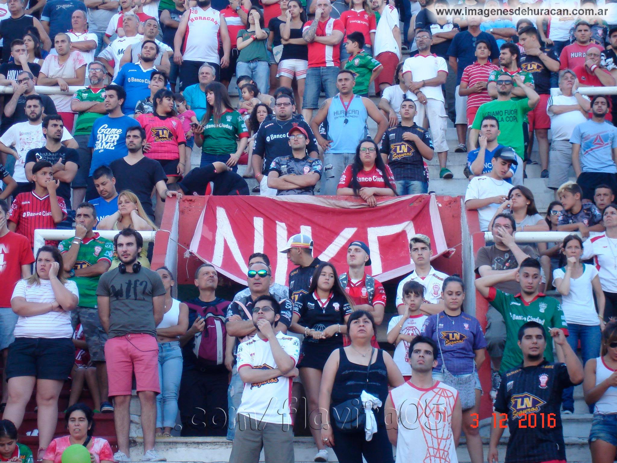 Huracán vs Colón fecha 12 torneo primera división 2016-2017