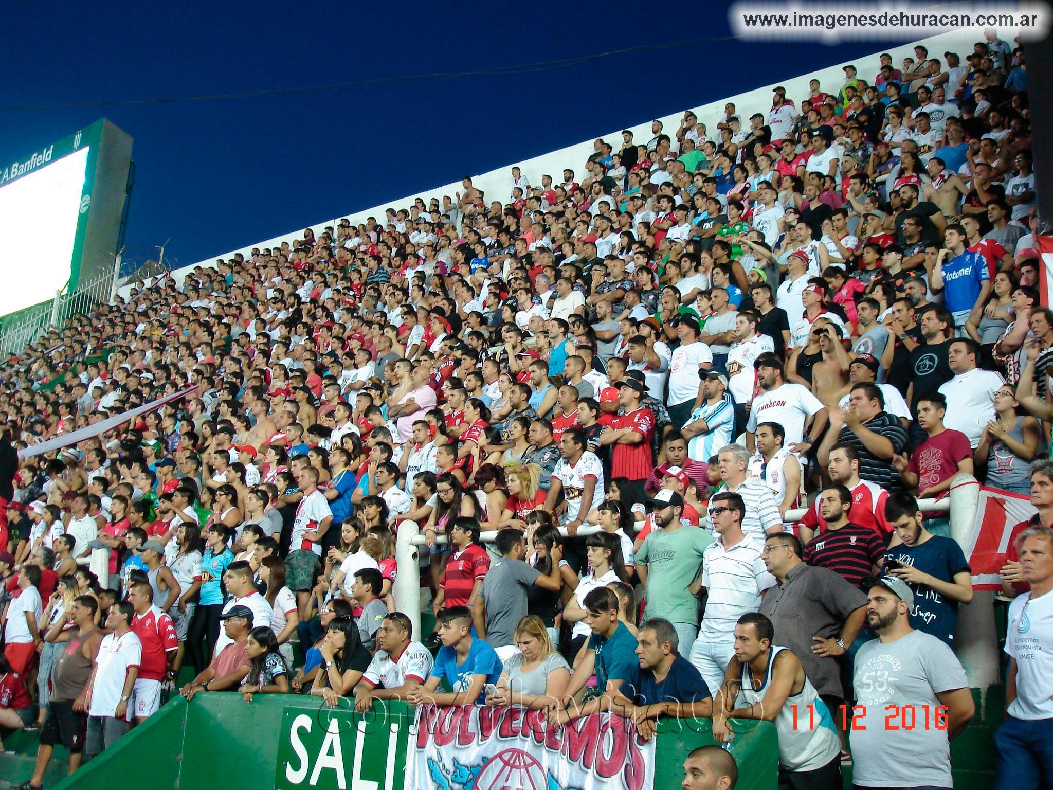 Banfield vs Huracán fecha 13 primera división 2016-2017