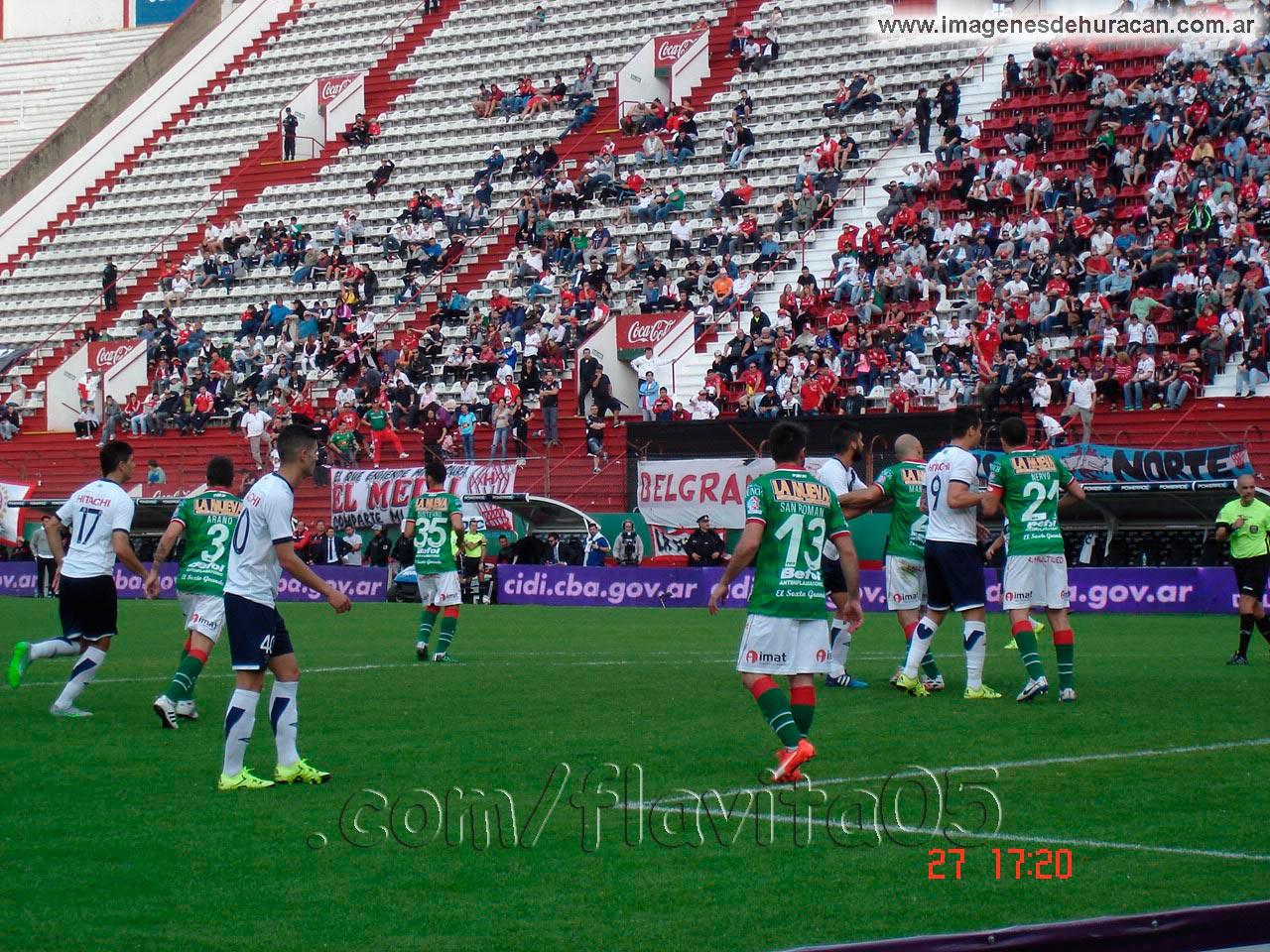Huracán vs vélez fecha 26 torneo de primera división 2015