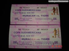 entradas huracán vs tigre copa sudamericana 2015