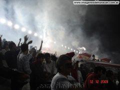 Los quemeros Huracán copando la paternal 2009