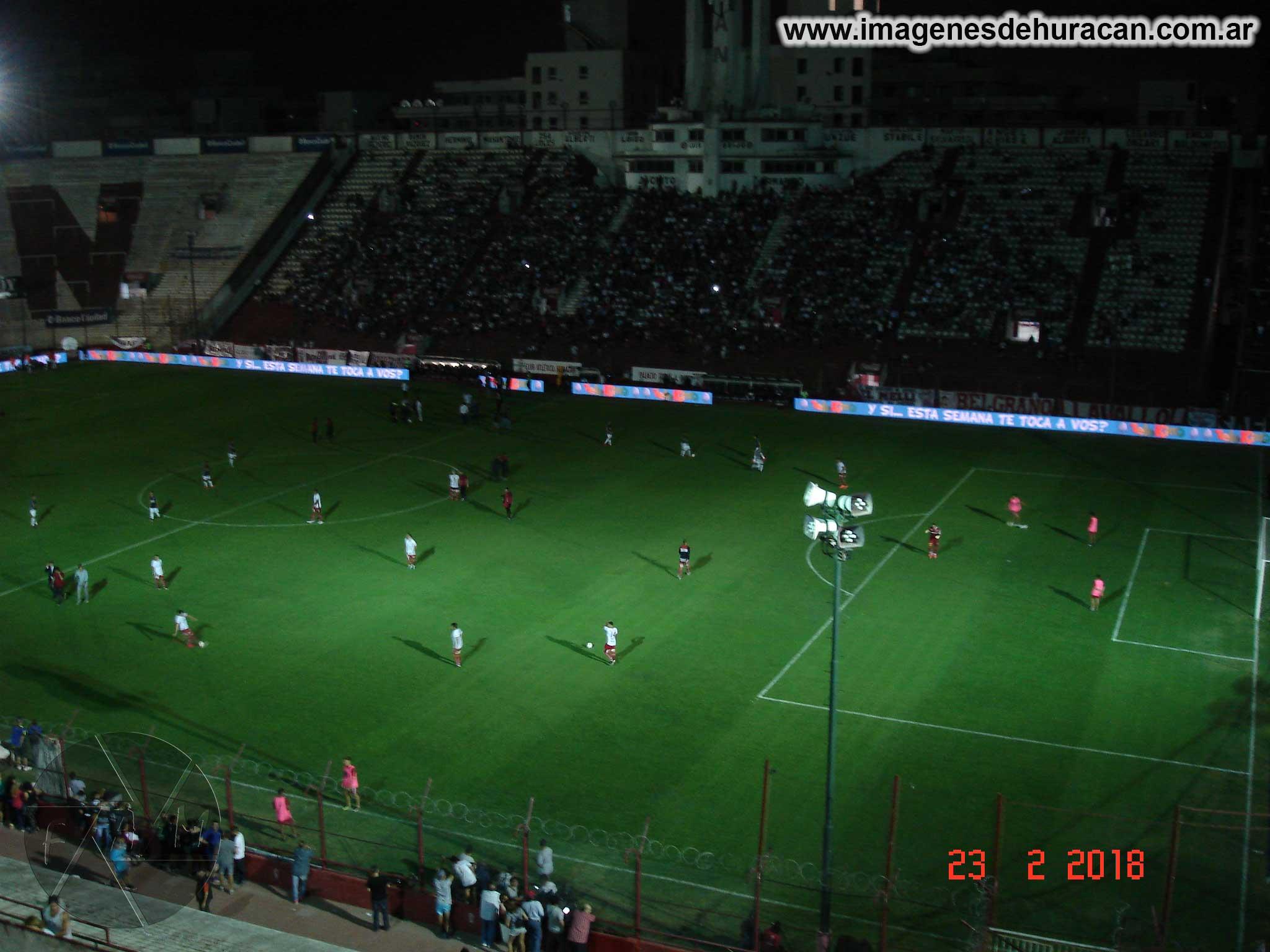 Huracán vs. Estudiantes La Plata - fecha 17