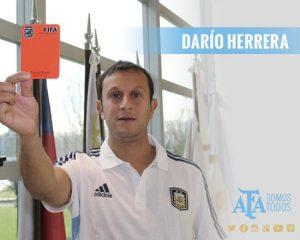 Dario Herrera afa arbitro