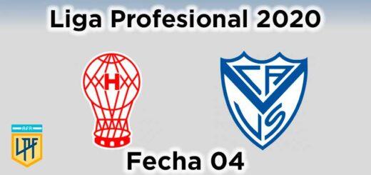 huracán Vélez fecha 04 liga profesional de fútbol