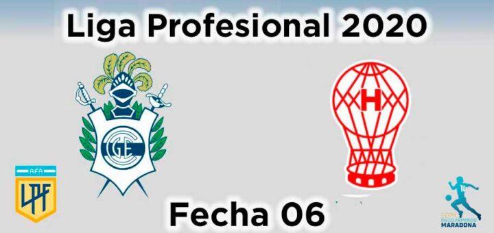 gimnasia huracán liga profesional fecha 06 copa maradona