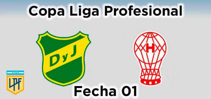 defensa y justicia vs huracán fecha 01 copa liga profesional