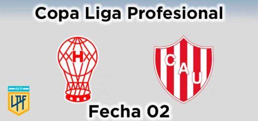 huracán unión fecha 02 copa liga profesional
