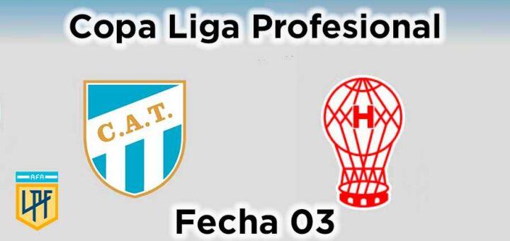 atlético tucumán vs huracán fecha 03 copa liga profesional