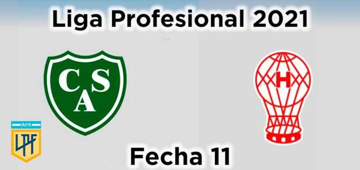 fecha-11-sarmiento-vs-huracan-liga-profesional-de-futbol-2021