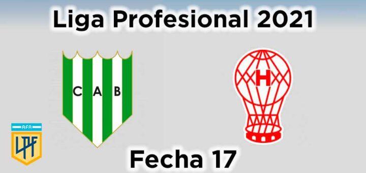 fecha-17-banfield-vs-huracán-liga-profesional-2021