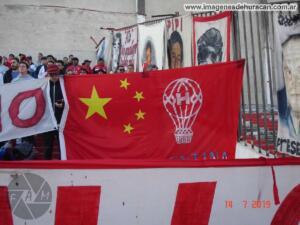 bandera china trapo huracán