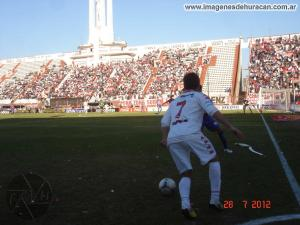 mauro milano Huracán 0-0 San Lorenzo - clásico de invierno 2012