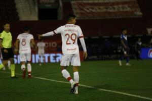 debuto-de-Valenzuela-en-Huracan-contra-velez-2021