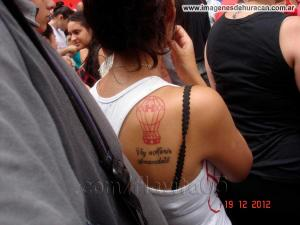 tatuaje quemero huracán